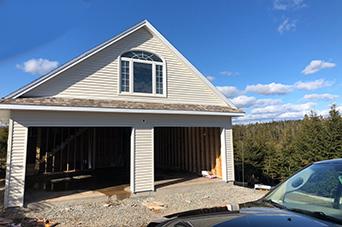 basic single garage